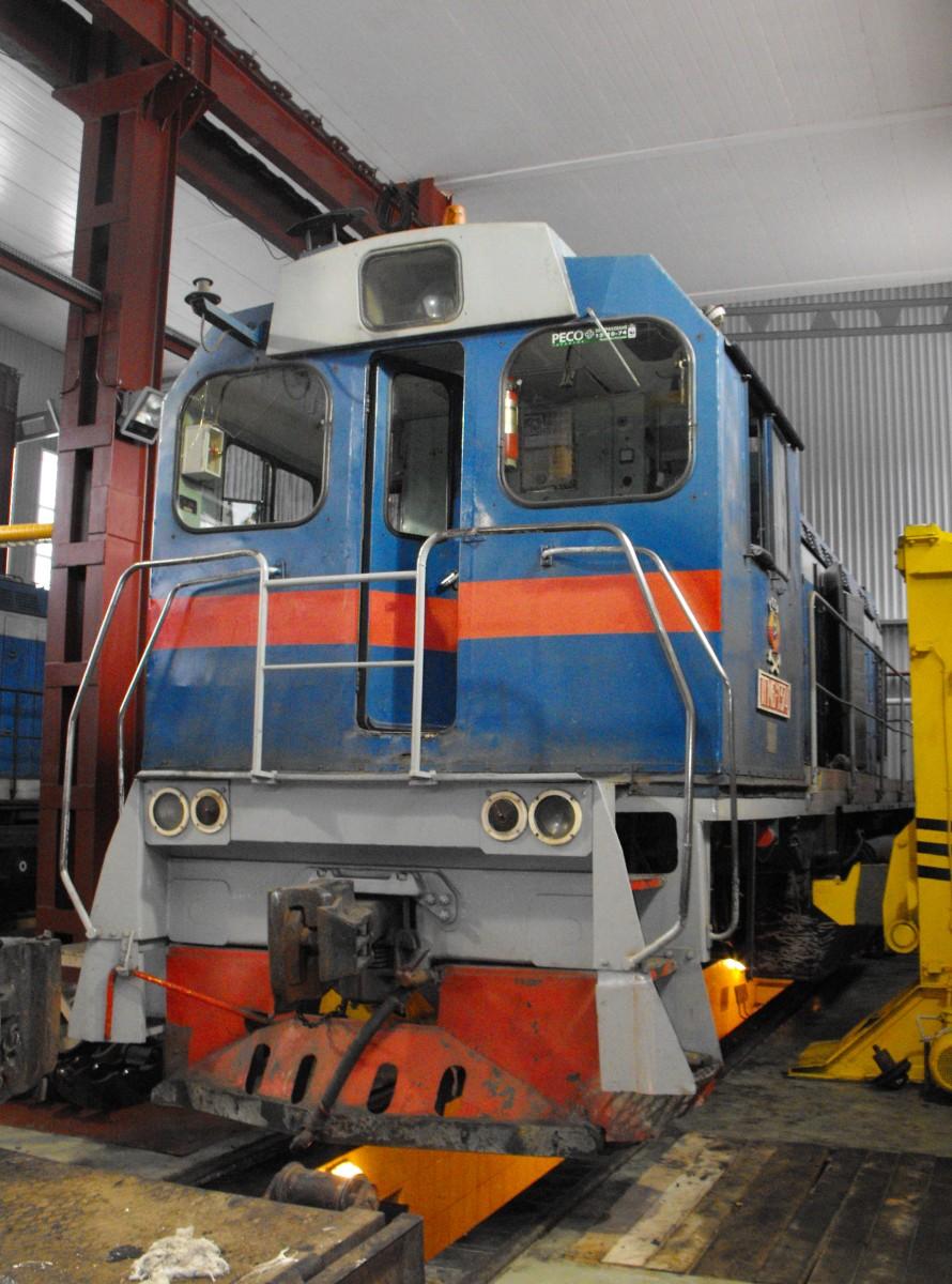 ТГМ6А-1374 на домкратах