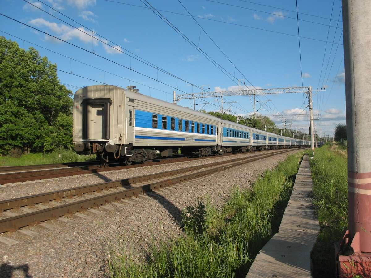 Фото поезда юность 2