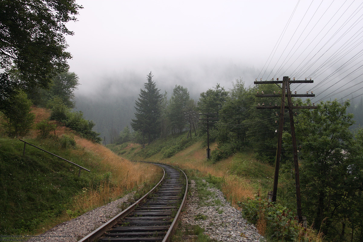 Железная Дорога в Миниатюре №76 - Опоры электролинии (набор)