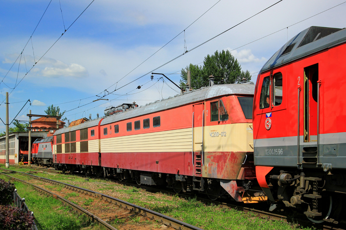Škoda Electric Locomotive 66Е1