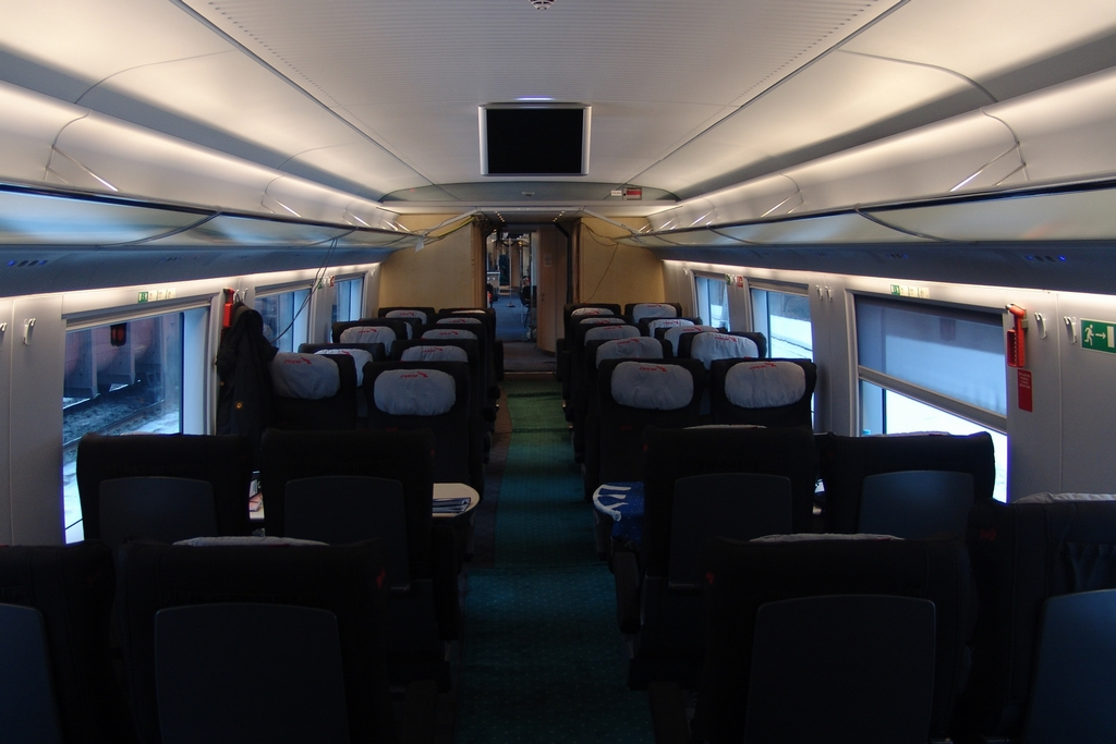 Сапсан фото салона вагона бизнес класса - 68d