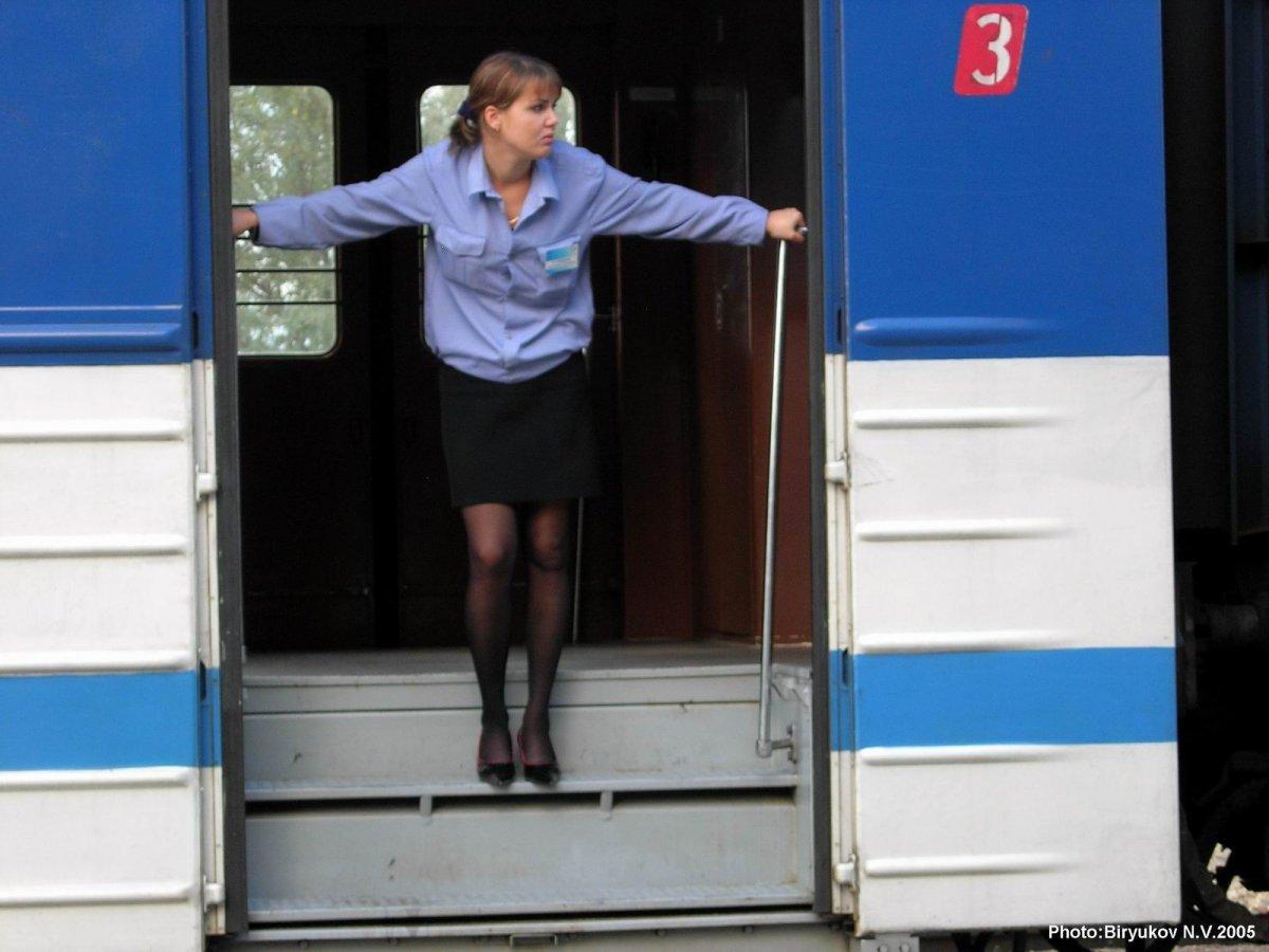 Фото девушки проводницы 19 фотография