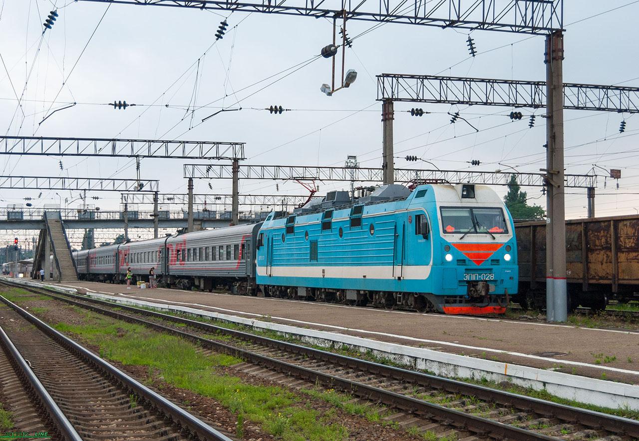 Фото поезда владикавказ 6