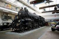 Express steam locomotive 375.007