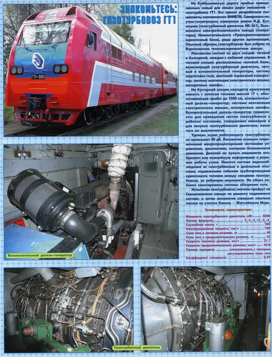 Gas Turbine Locomotive Wikipedia Electronic Circuit For Train Project External Linksedit